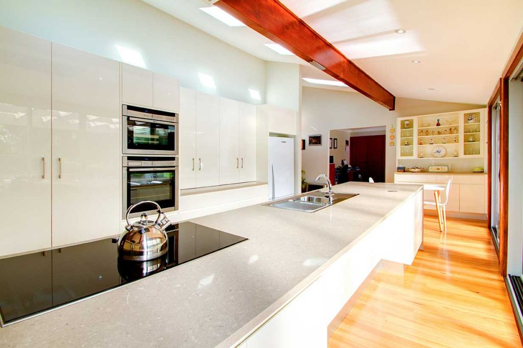 contemporary large kitchen
