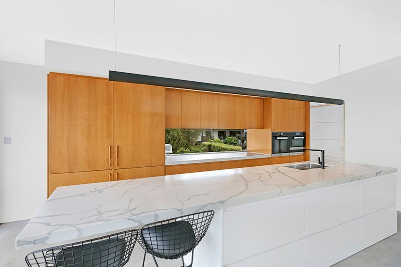 Contemporary kitchen at 46 McGee Avenue