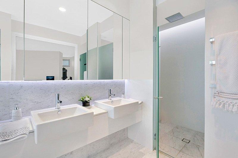 Contemporary bathroom at 56 Del Monte Place