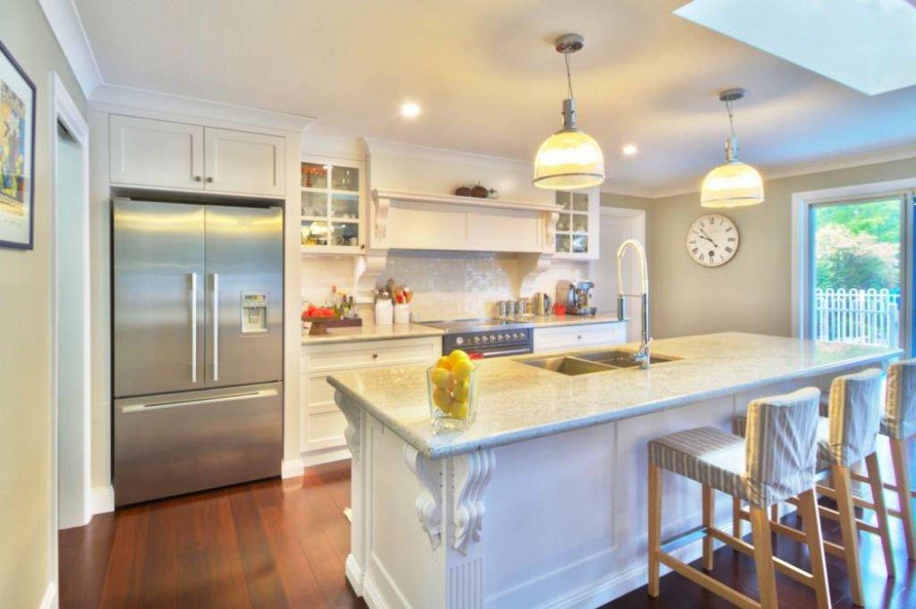 traditional kitchen with beautiful furnishings