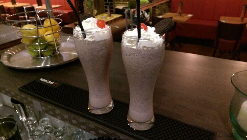 oreo milkshakes