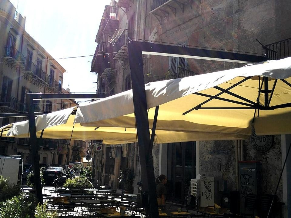 ombrelloni per ristoranti