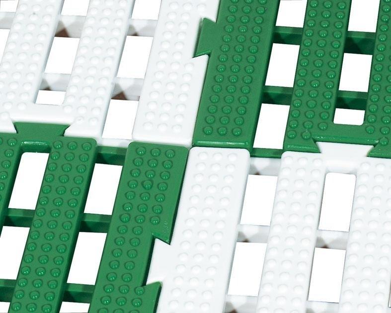 pedane modulari in plastica