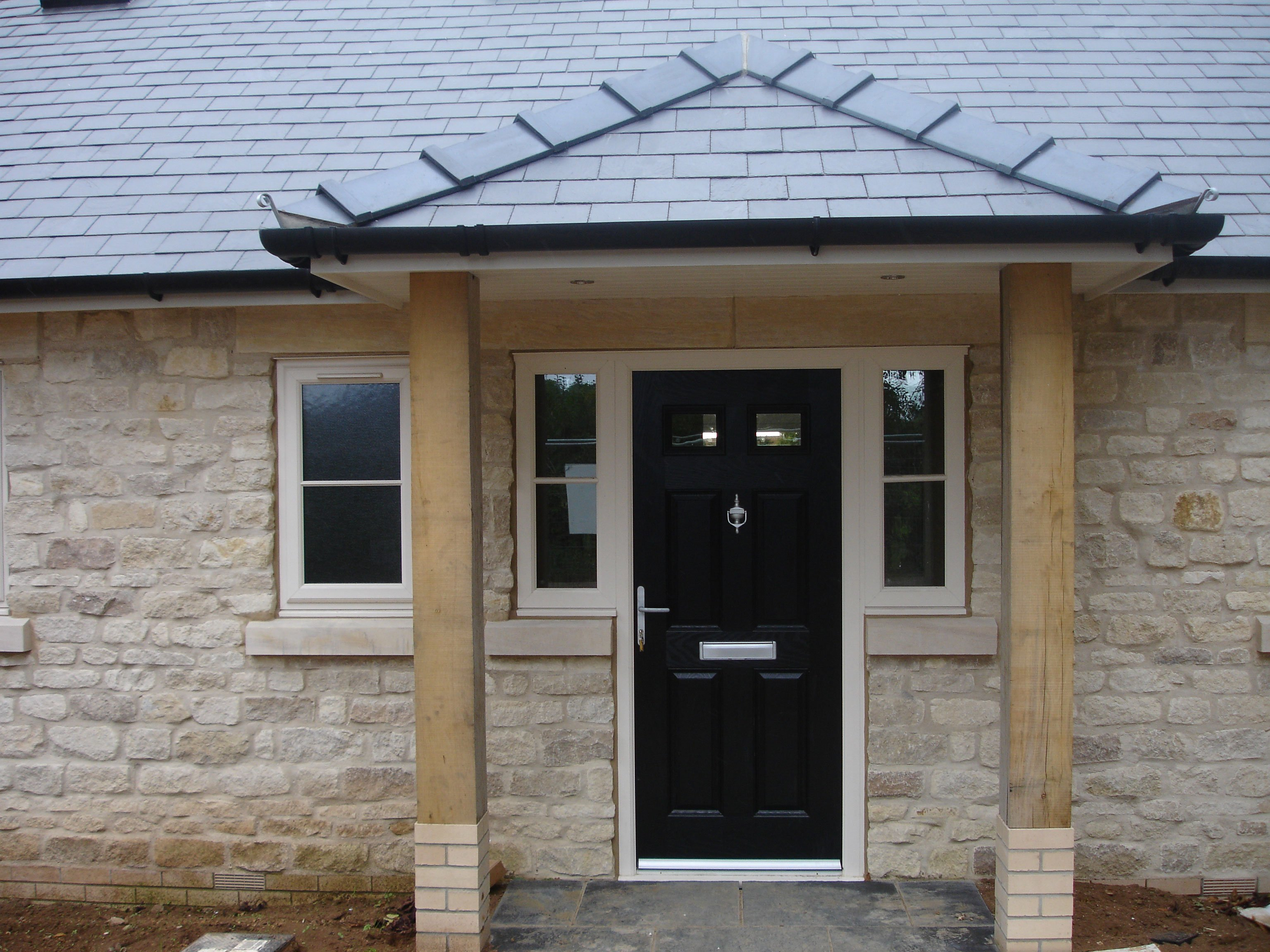 A house extension with windows and doors in Grantham