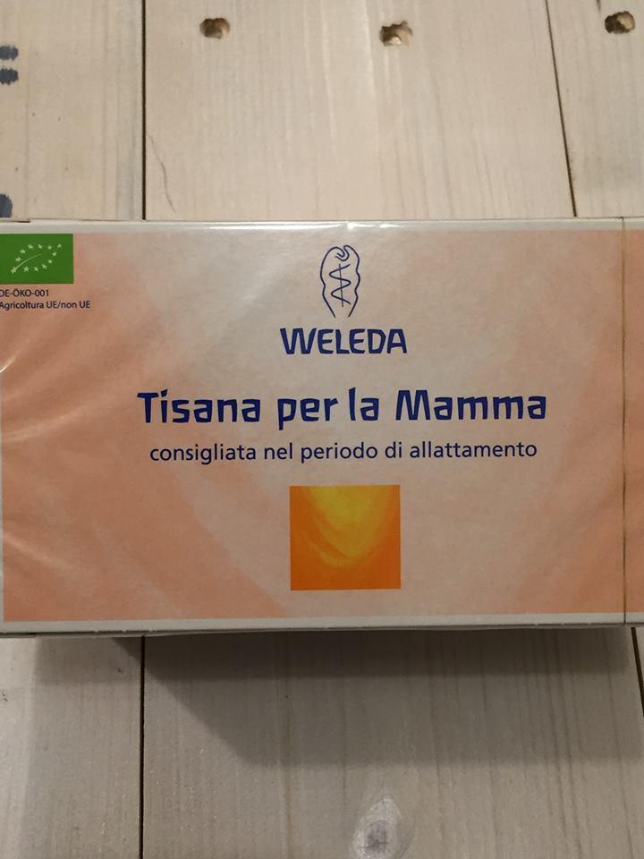 Una tisana Bio a marchio Weleda