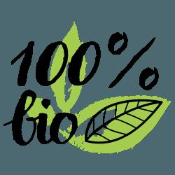 100% bio - logo