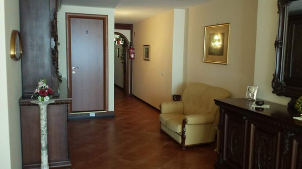 Interno dell'alloggio per anziani Giovanni Paolo II a Messina