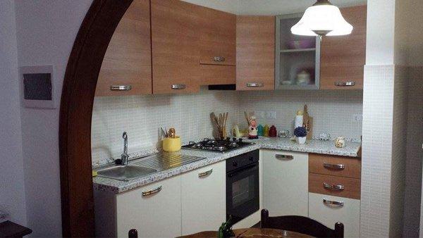 Cucina dell'alloggio per anziani Giovanni Paolo II a Messina