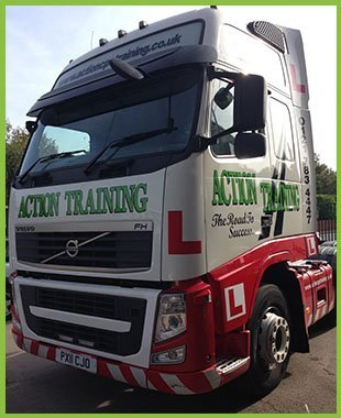 Action Training vehicle - Birmingham - Action Training