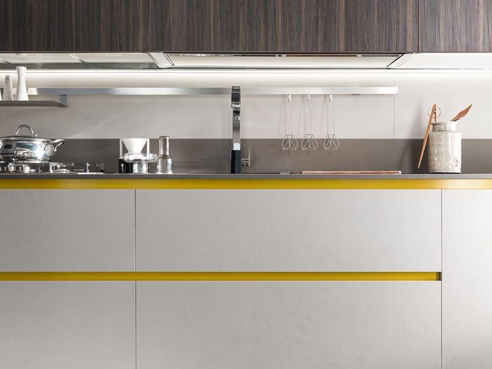 cucina bianca laccata