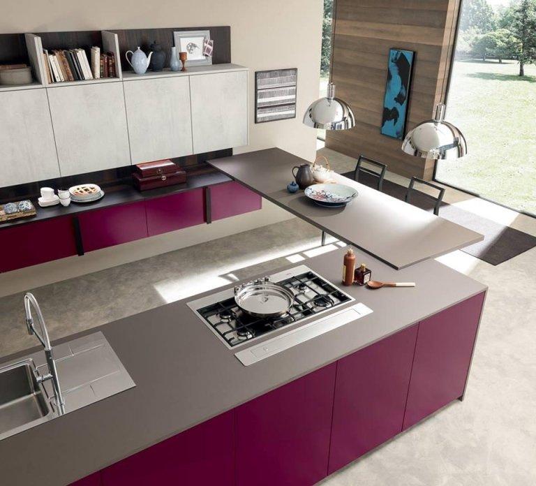 cucina spaziosa