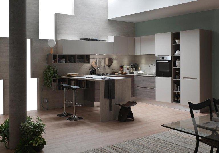 cucina e tavolo
