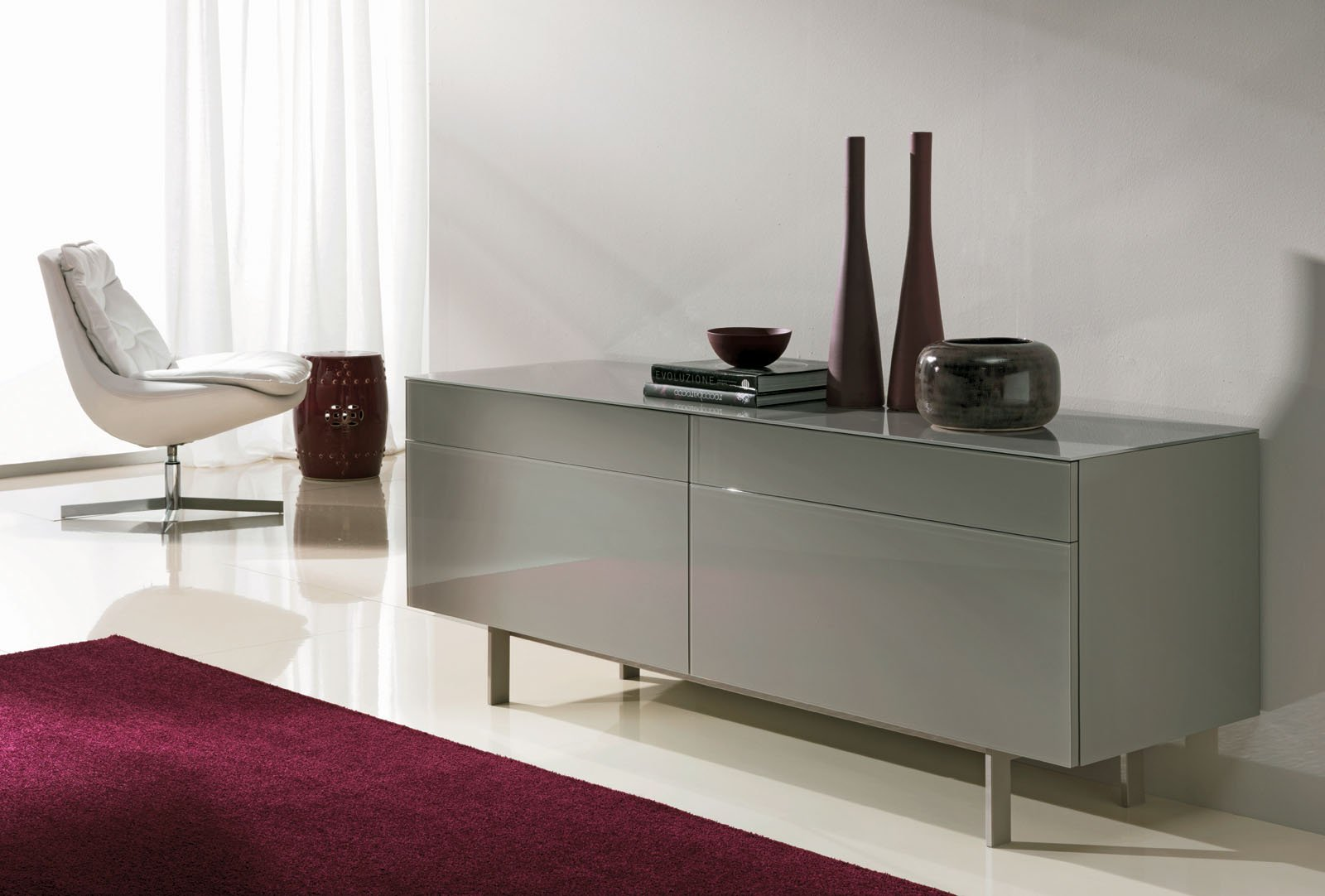 Aly Sideboard Gl Bontempi Furniture