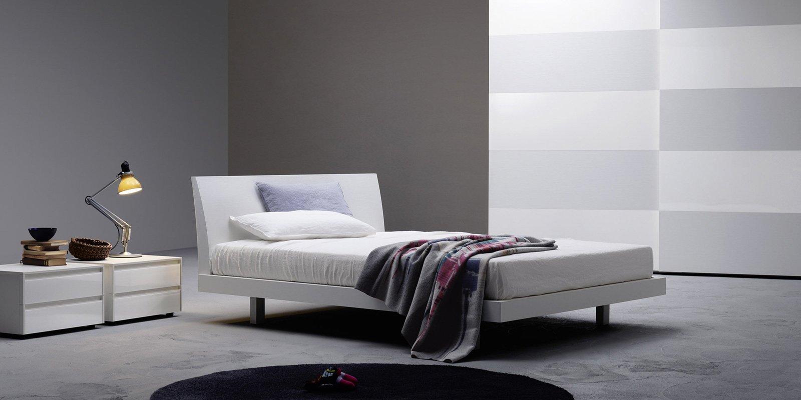 Contemporary Bedroom Furniture In Southern Ca - Brio bed