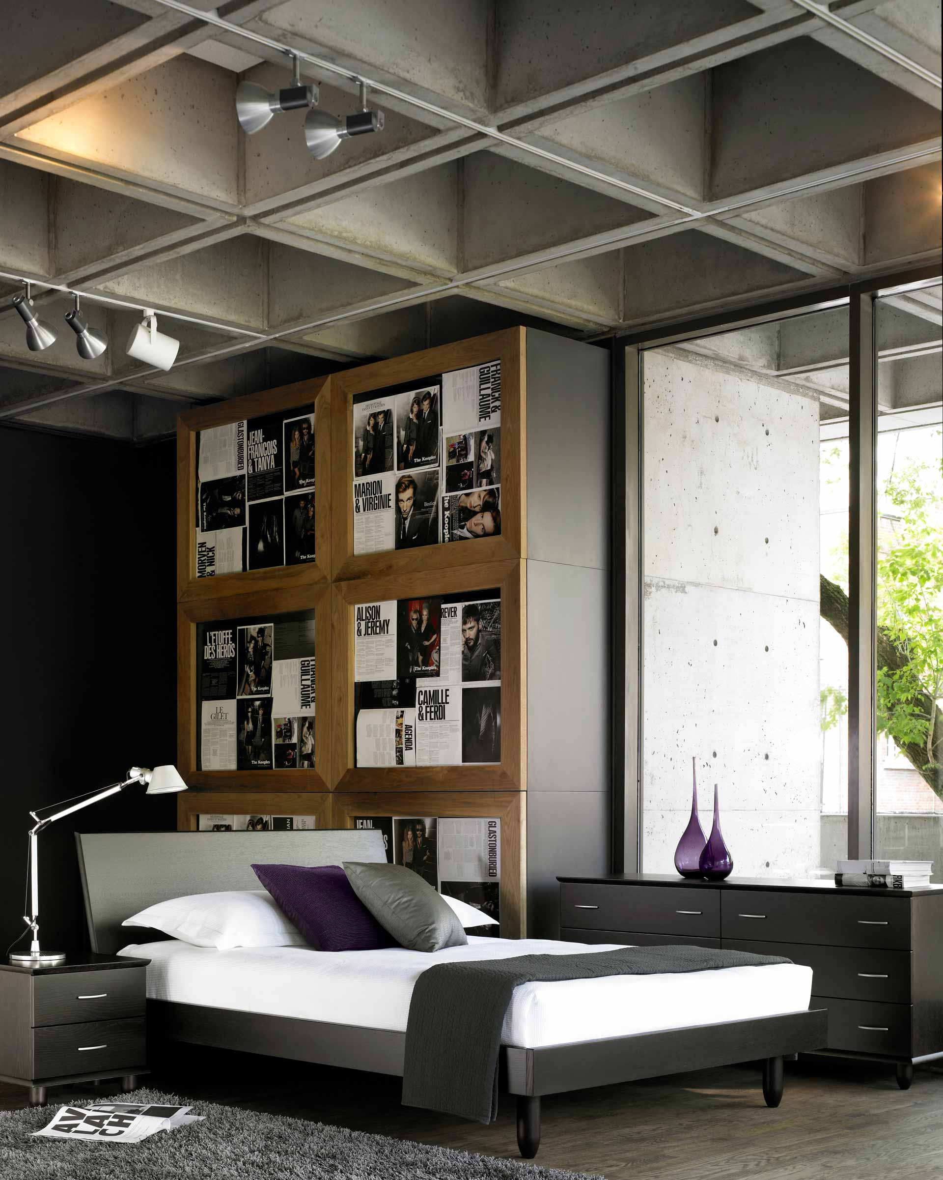 Contemporary Bedroom Furniture San Francisco Berkeley Ca Beyond Kcc Modern Living