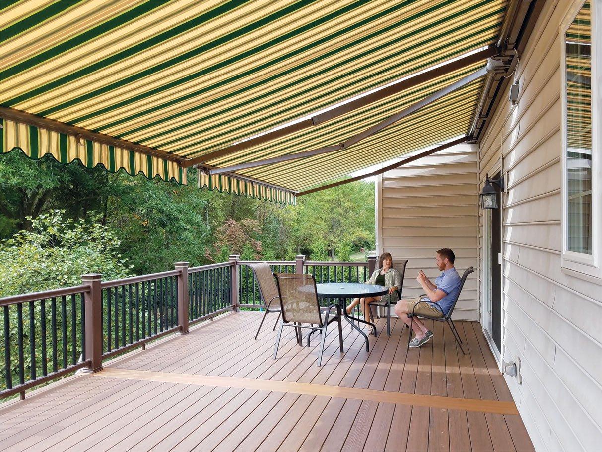 air deck awning decks for vinyl vent awnings aluminum