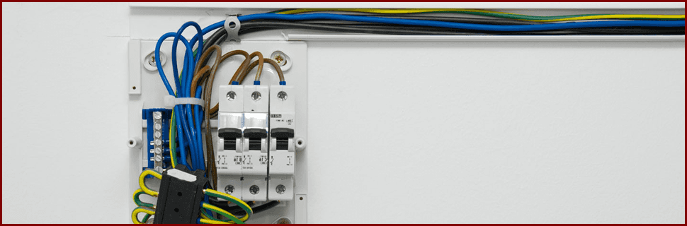 local authority approved electrical work wiring in a fuse box