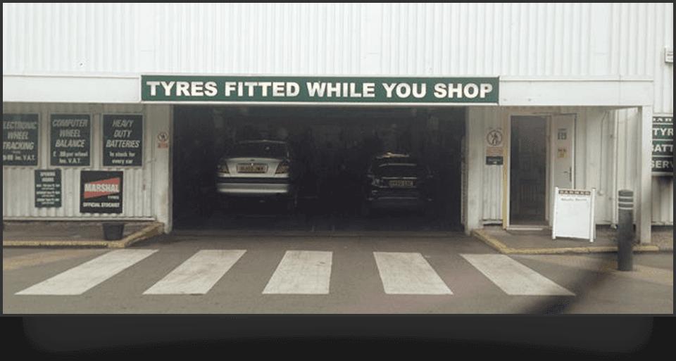 tyre service centre