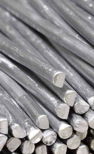 fili zinco e alluminio