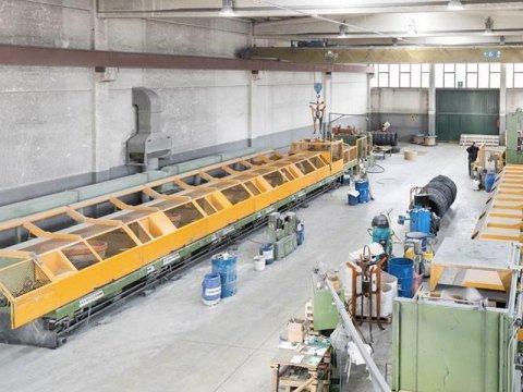 Produzione filo metallico