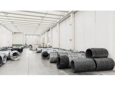 Zinc aluminium wire production