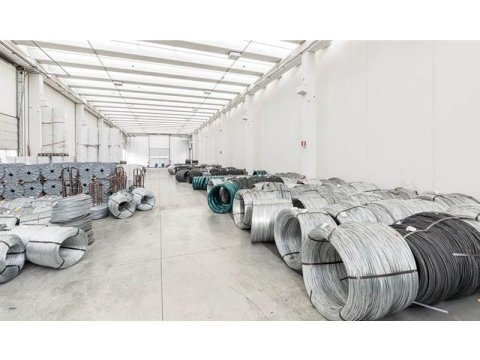 Galvanised wire production