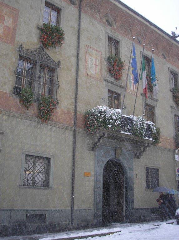 Palazzo Pretorio sede del Comune di Sondrio