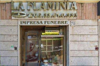 sede di agenzia funebre
