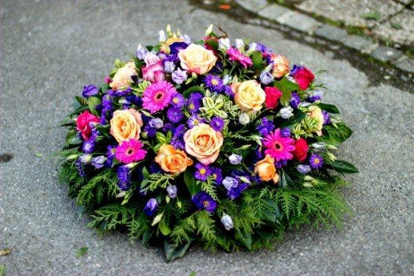 ghirlanda per funerale