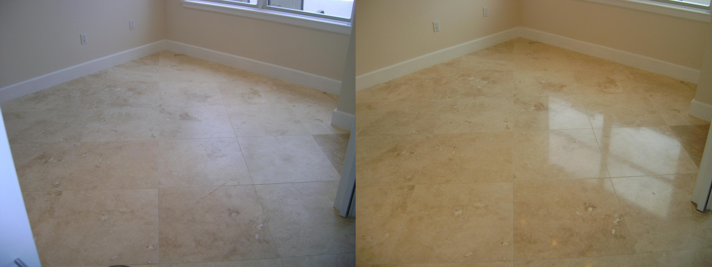 D I Y Travertine Or Natural Stone Diamond Polishing And
