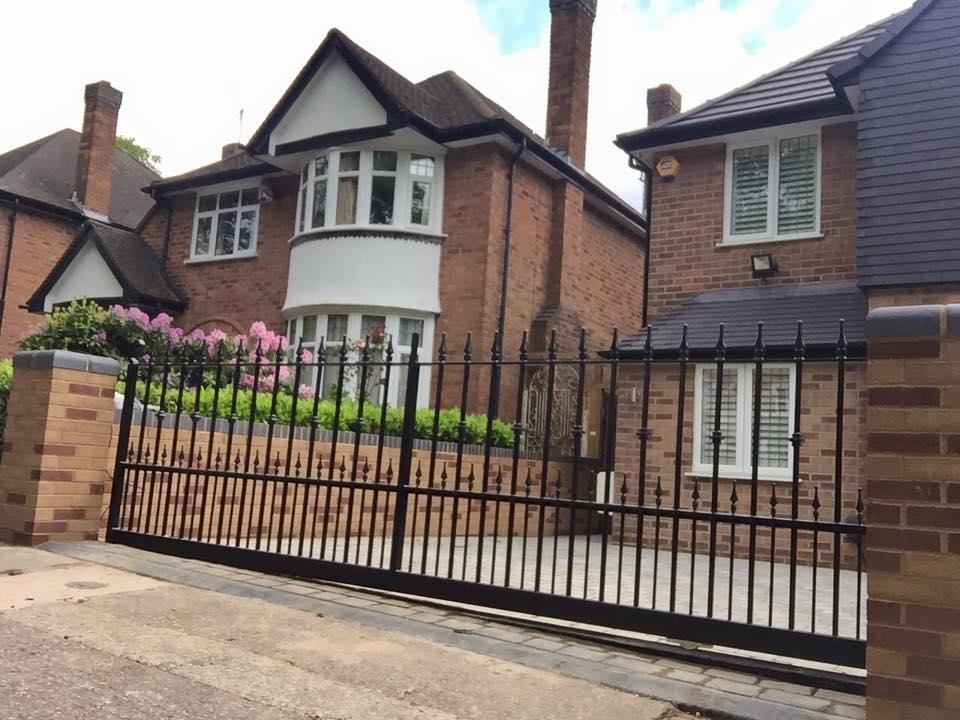 iron railing gates