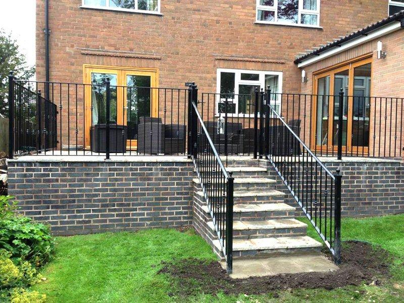 steps railing