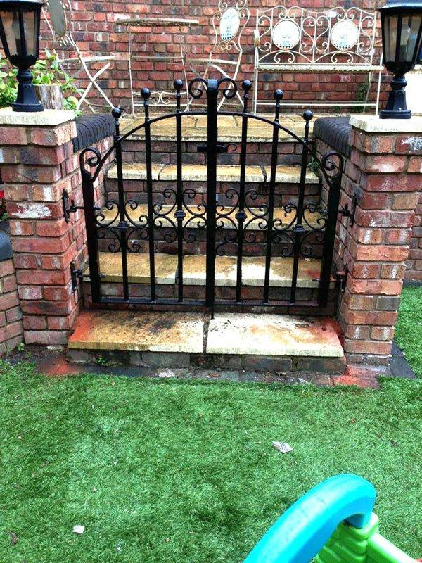 small black gate