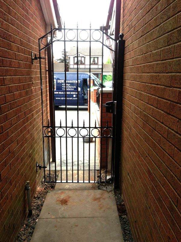 narrow passage gate