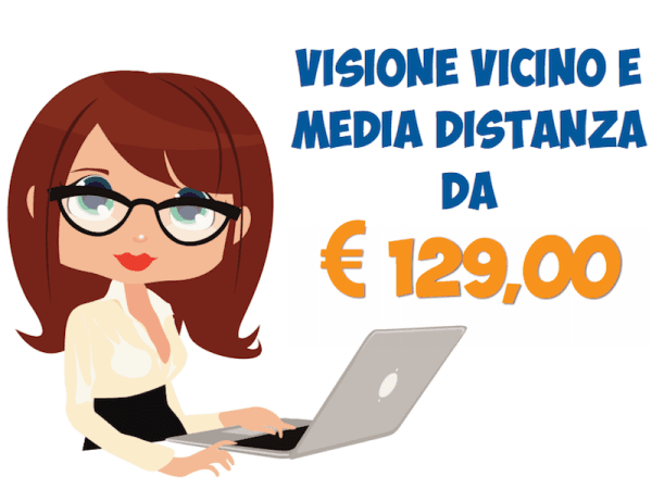 visione vicino e a media distanza
