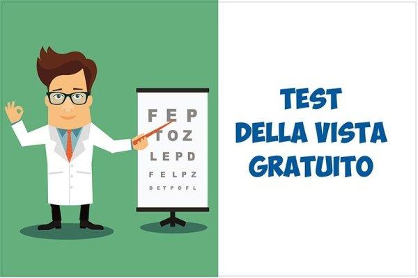 test  della vista gratuito