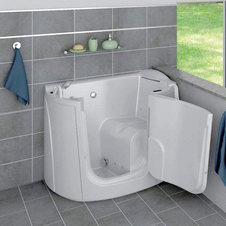Vasche da bagno per anziani e disabili cesano maderno - Vasche con la porta oceano prezzi ...