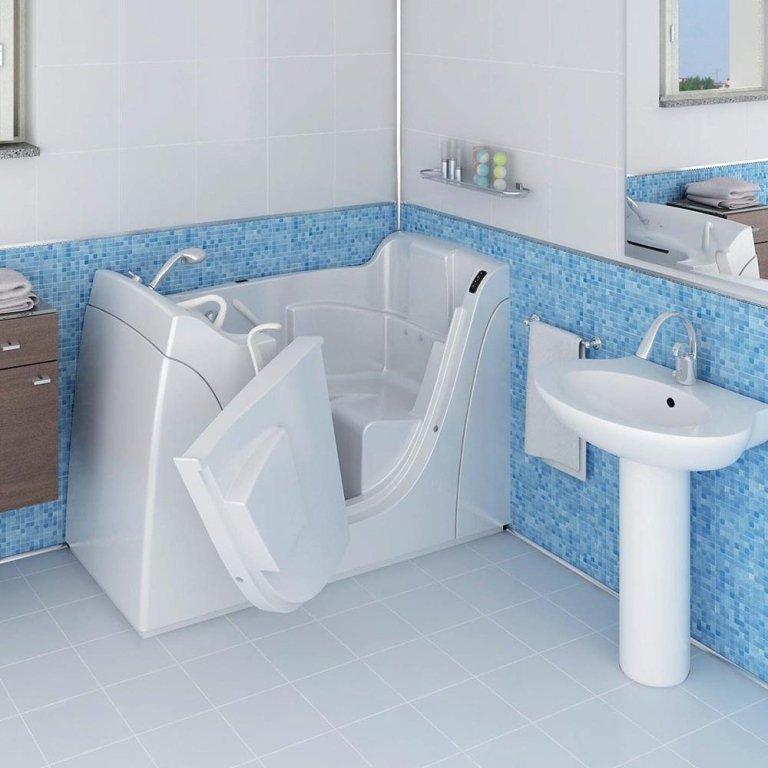 Vasche da bagno per anziani e disabili cesano maderno - Vasche da bagno su misura ...