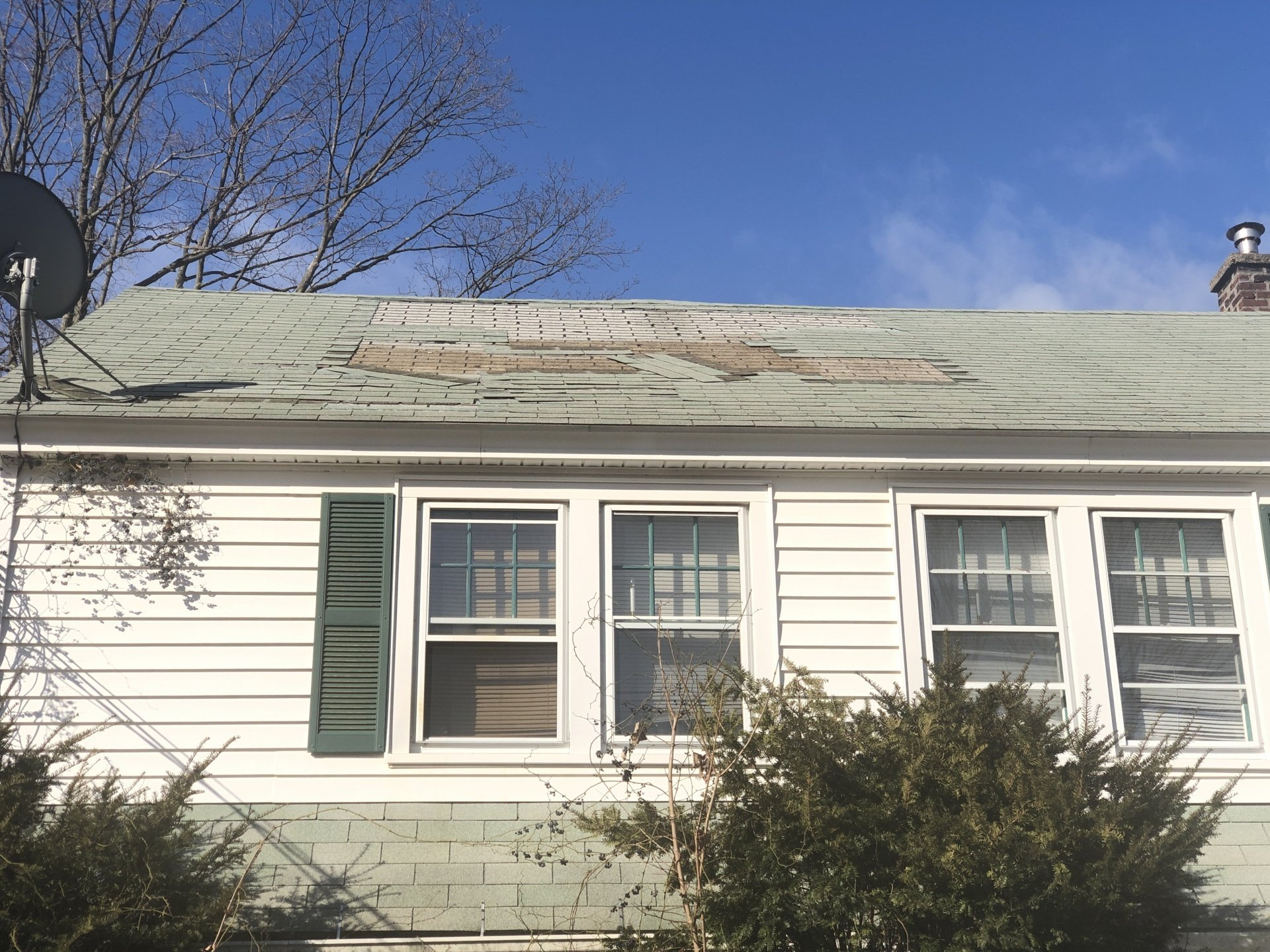 Roof Replacement 411 Frost Rd Waterbury Ct