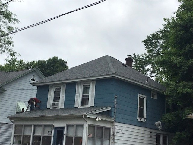 Roof Replacement 619 Willow St Waterbury Ct 06710