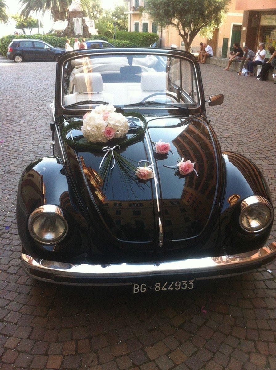 addobbo macchina sposi