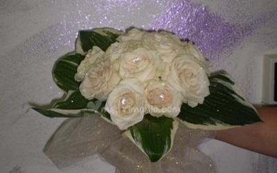 Bouquet tondi rose