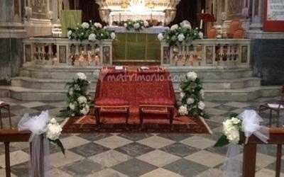 Fiori altari navate