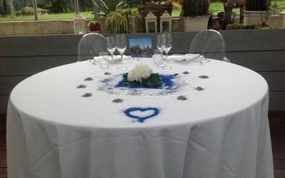 Allestimenti tavoli sposi