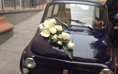 Fiori macchina sposi