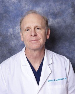 Portrait of Corey Johnson, MD