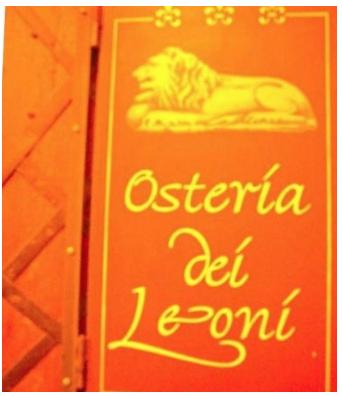 Osteria dei Leoni logo