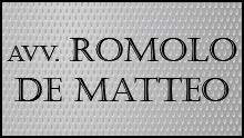 DE MATTEO AVV. ROMOLO - LOGO