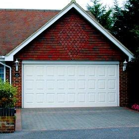 Garage door services - Birmingham, West Midlands, Solihull - Allstyle Door & Gate Services Ltd - Double garage doors