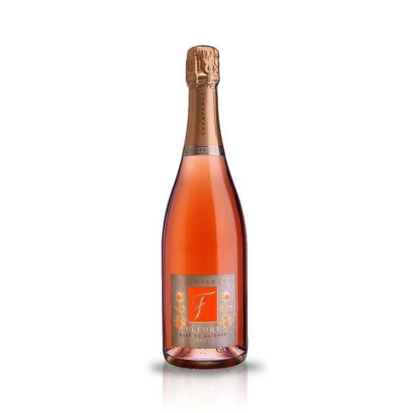 Champagne fleury rosè